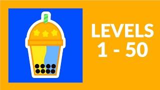 Bubble Tea! Game Walkthrough Level 1-50
