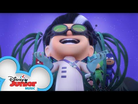 Take Over The World Music Video 🌍 | PJ Masks | Disney Junior