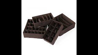 REVIEW: Songmics Foldable Storage Box/Organizer -- URUSO4K