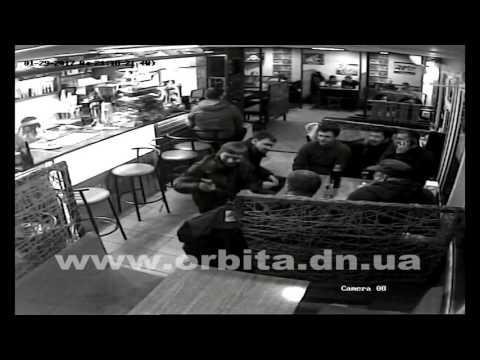 Стрельба в кафе My friends в Покровске