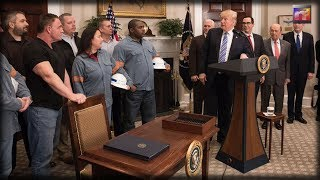 Steel Worker Has 7 Beautiful Words for President Donald Trump That Will Bring a Tear to Your Eye