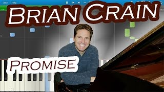 Brian Crain - Promise [Piano Tutorial] Synthesia