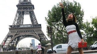 נשיא צרפת גרם לנו ללכת ברחובות פריז שלוש שעות ברגל | שבוע האופנה פריז #2