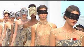 DE LA CIERVA Y NICOLÁS Clotilde dreams Highlights SS 2018 Madrid Bridal Week   Fashion Channel