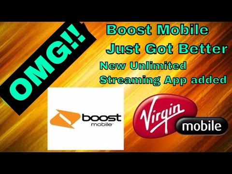 New Free unlimited music streaming app OMG! (Boost Mobile) HD