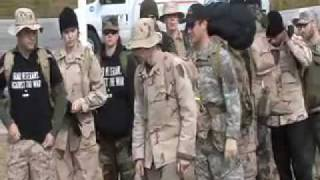 Iraq Veterans Against the War march for Winter Soldier