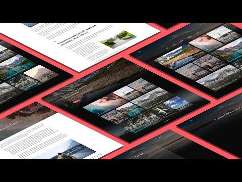 Design And Create A Website Using Adobe XD / JAMStack / CSS / React  / Gatsby / Contentful / Netlify