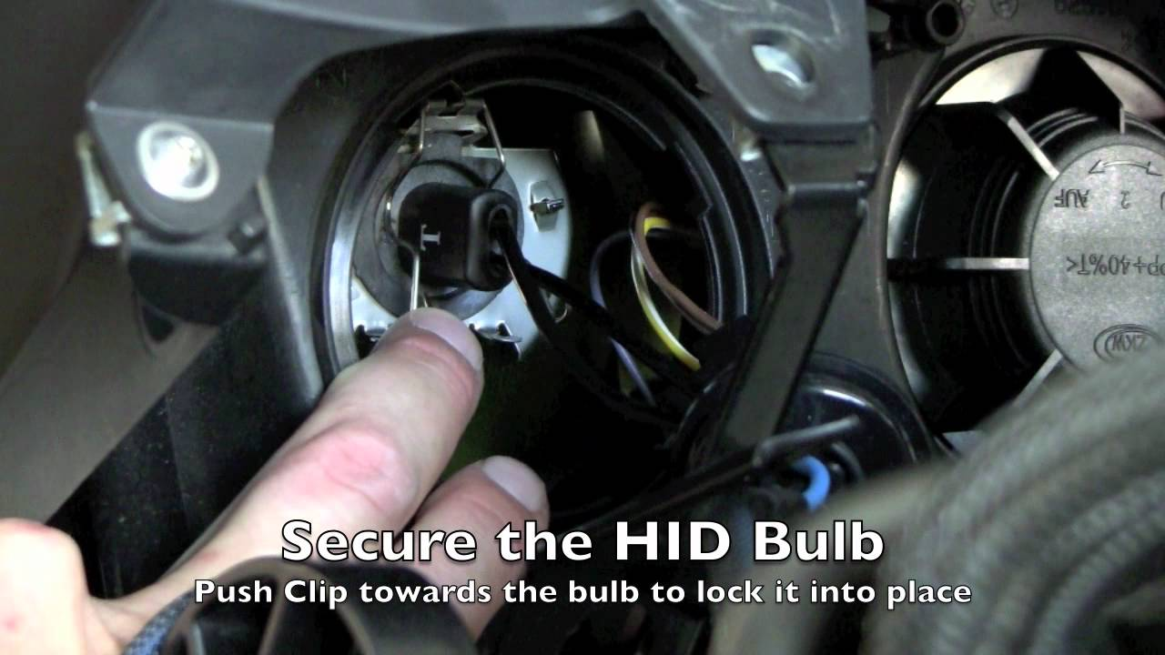 How To Install Hid Xenon Lights On A Bmw R 1200rt