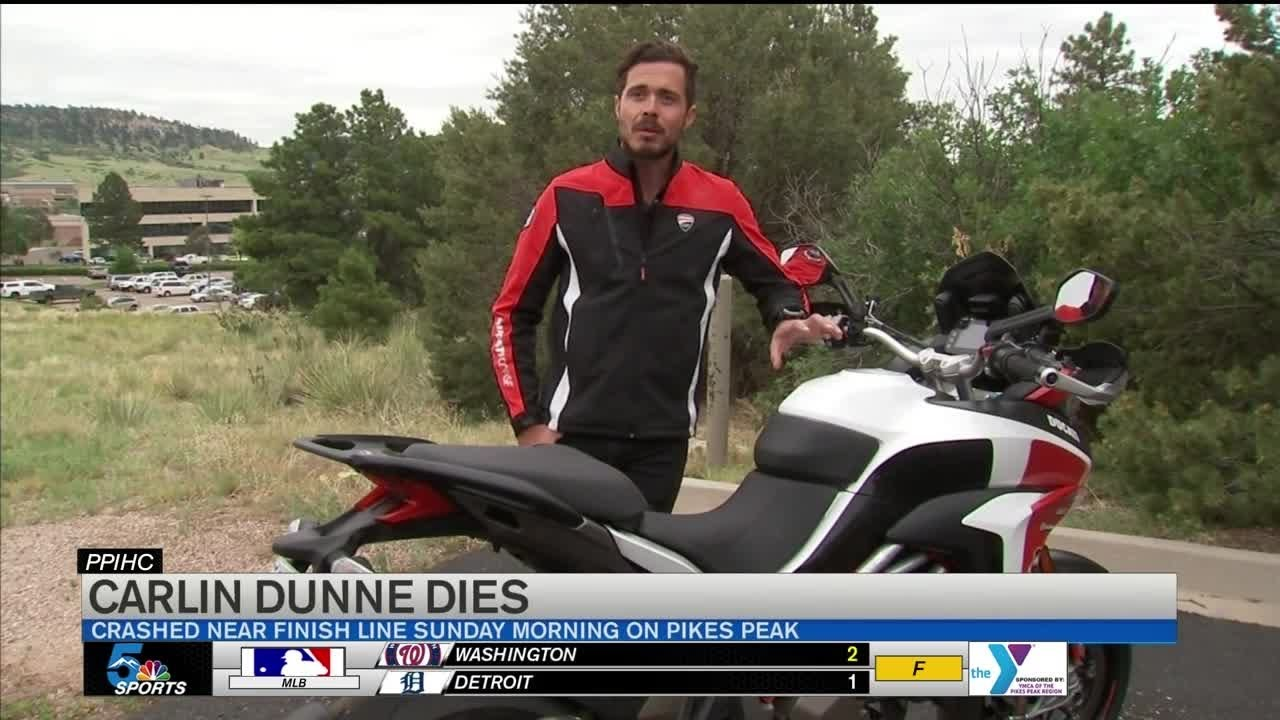 Carlin Dunne Killed at Pikes Peak Hill Climb Race He Won Four Times