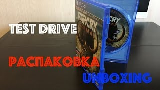 FarCry 5 Primal PS4 и PS4 Pro распаковка|unboxing|TEST DRIVE|обзор на русском языке