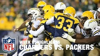 Chargers vs. Packers | Week 6 Highlights | NFL