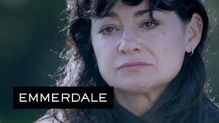 Emmerdale - Moira Worries About Her and Nate's Life, Left in Cain's Hands