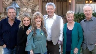 Brady Bunch Cast Reunites at Real-Life Brady Bunch House (Exclusive)