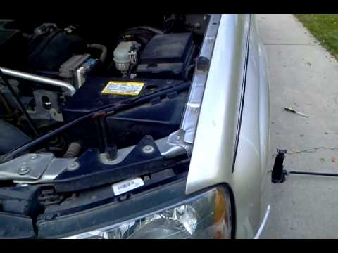 Replacing starter in a 2005 trailblazer 42 eng - YouTube