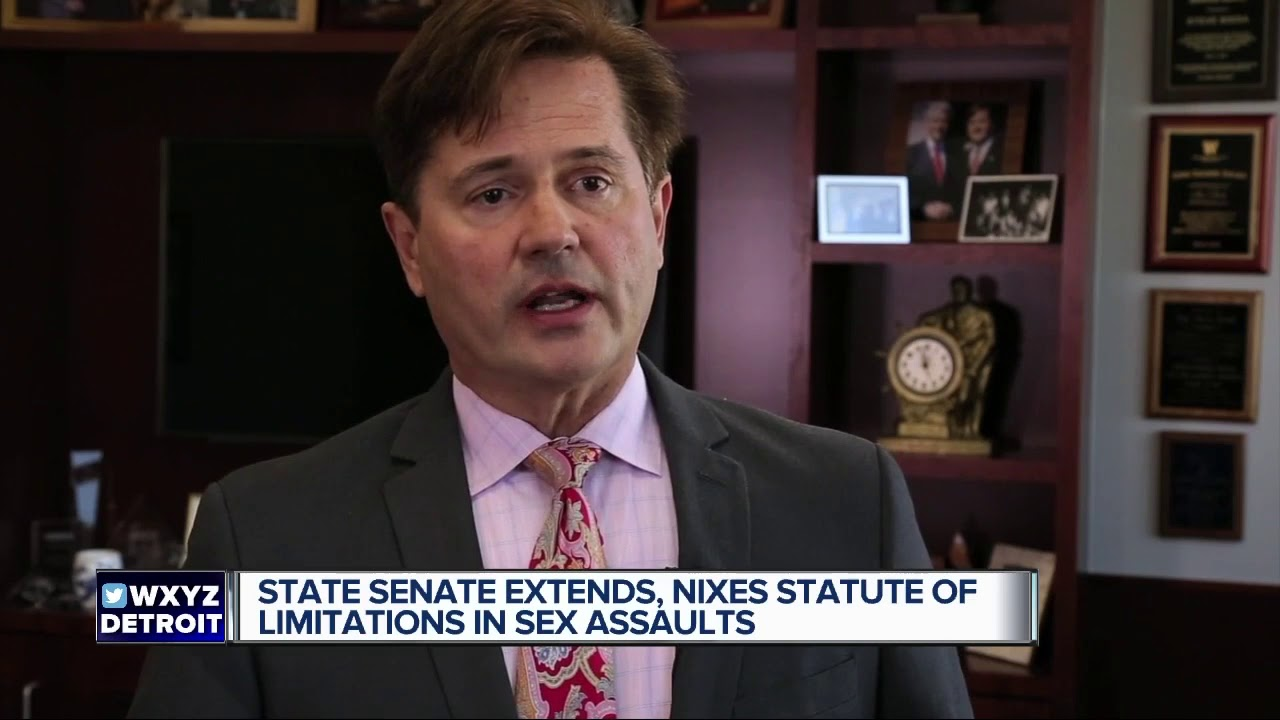 Statue of michigan limitations of sex