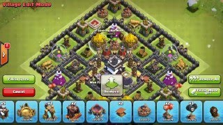 NEW TH9 FARMING BASE - TH11 December Update - Clash of Clans