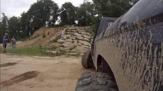 Ford Rangers Climbing Blue Berry Rock Crawl at Southington - GoPro thumbnail