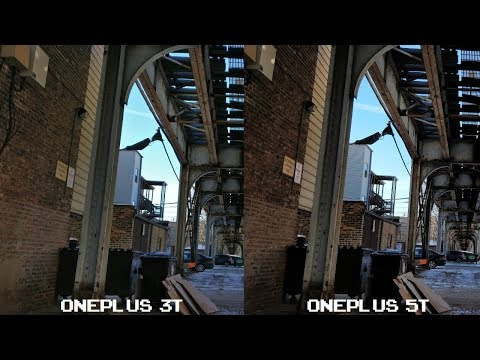 Camera Comparison - OnePlus 3T vs OnePlus 5T