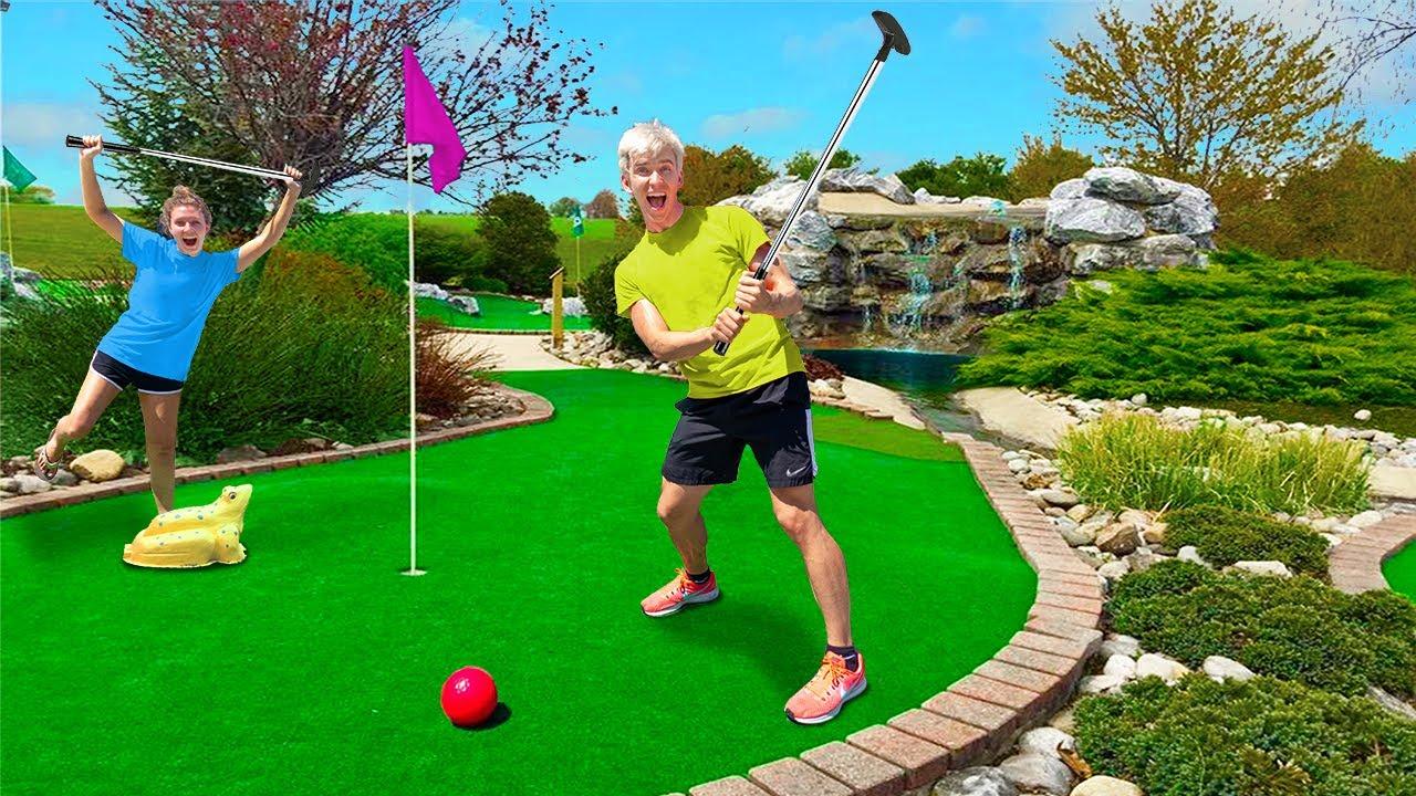 ULTIMATE Mini Golf Challenge!! (Winner Gets $10,000)