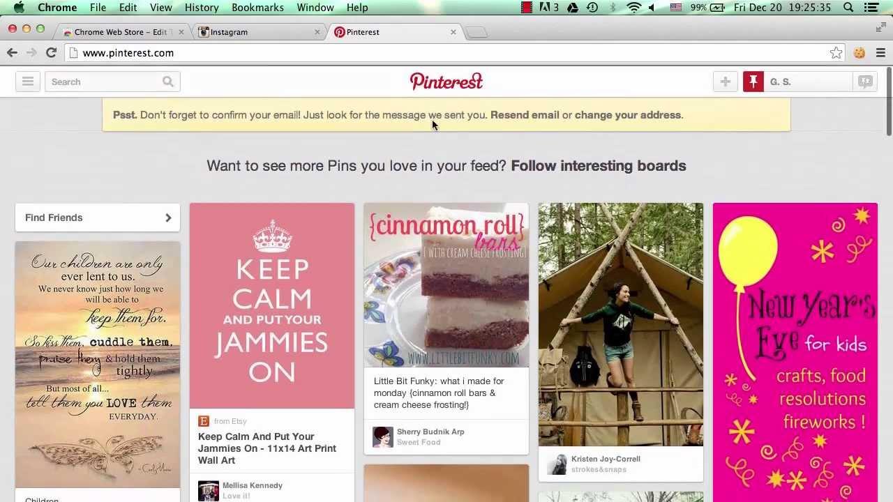 You Can't Log Out of Pinterest or Instagram - Django Web Framework ...