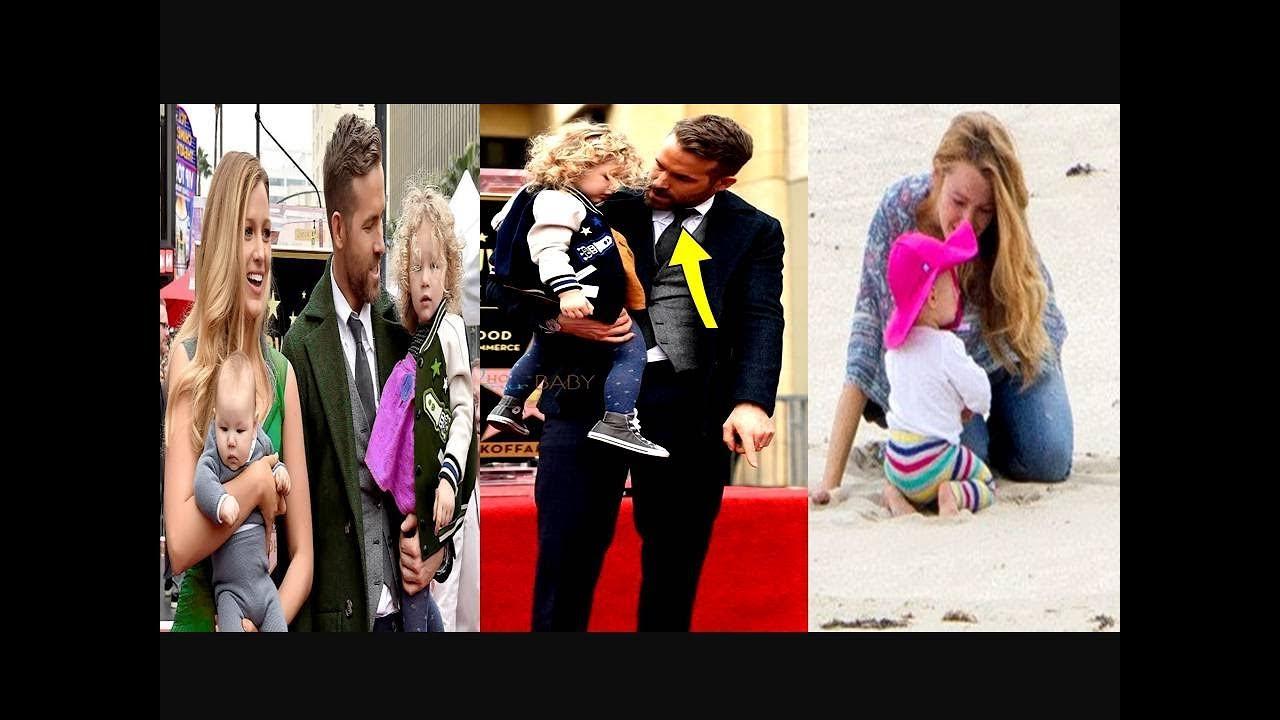 Ryan Reynolds and Blake Lively Kids 2018 [ Inez Reynolds ...