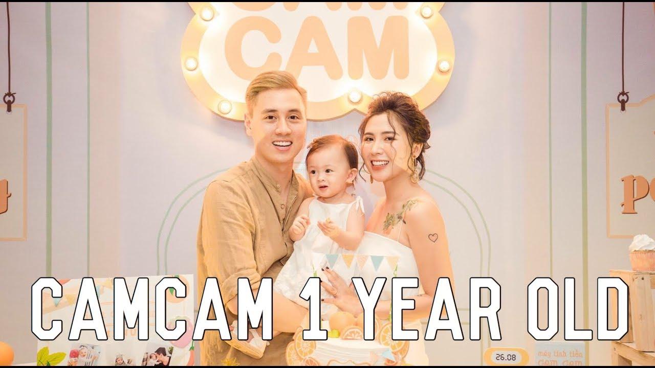 CamCam Birthday 1 year old   Thôi nôi CamCam