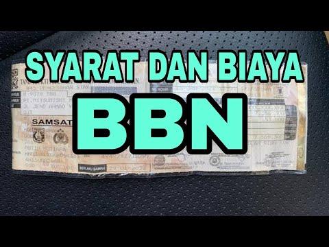 SYARAT DAN BIAYA BALIK NAMA KENDARAAN BERMOTOR #perda #lalulintas #hukum