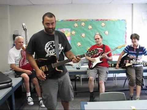 Tristan Clark in Blues Class