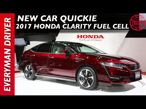 2017 Honda Clarity Fuel Cell New Car Quickie On Everyman Driver