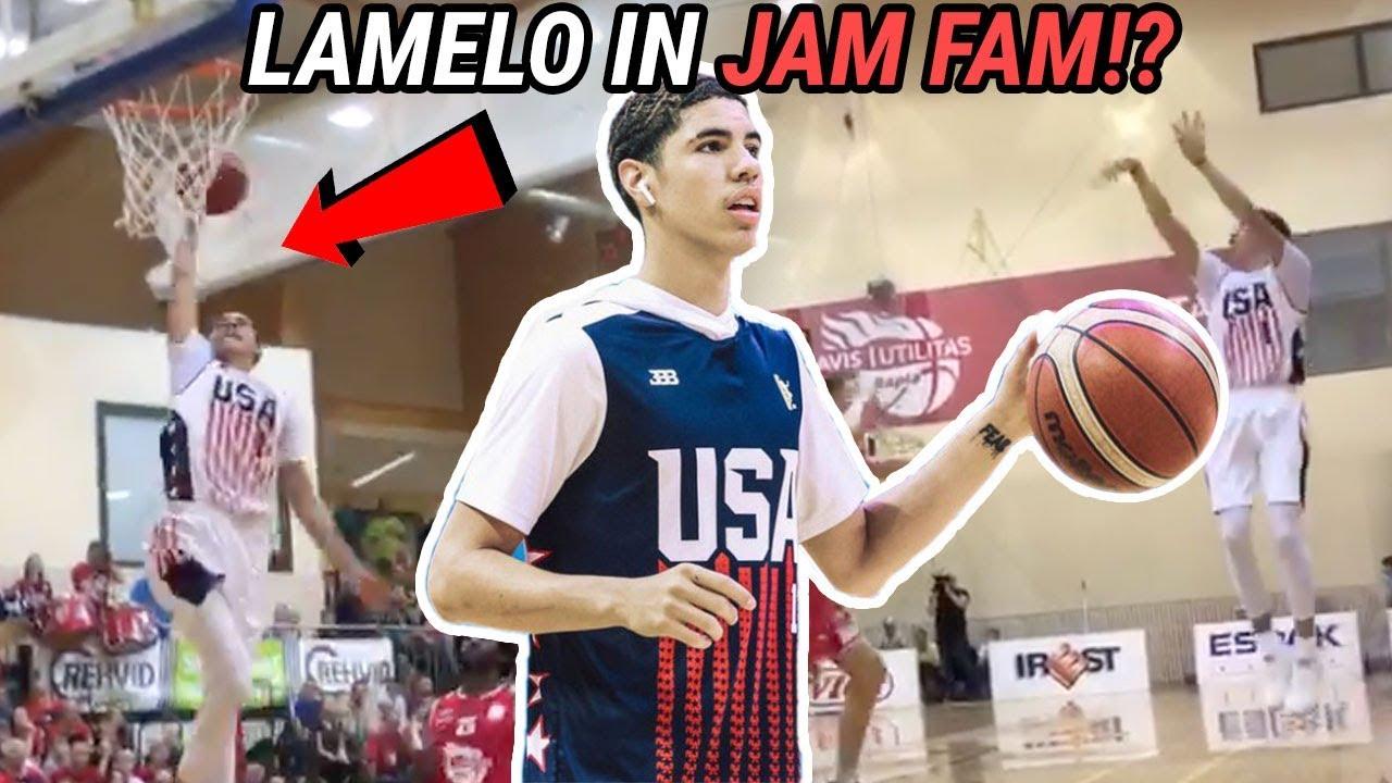 lamelo-ball-goes-jam-fam-gelo-can-t-miss-in-estonia-team-usa-is-lookin-legit