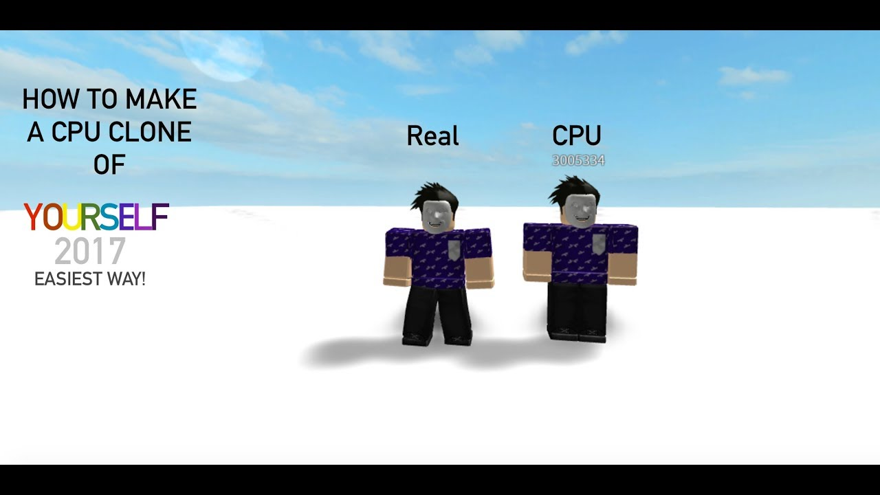How To Make A NPC Clone Of Yourself In ROBLOX Studio!