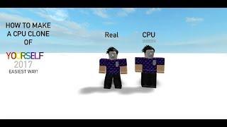 Wie man einen NPC-Klon von sich selbst in ROBLOX Studio macht!