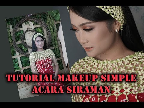 TUTORIAL Makeup Simple Dan Natural Siraman By Success WO