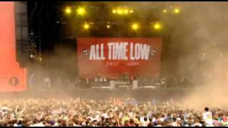 All Time Low - Dammit live Reading Festival 2012