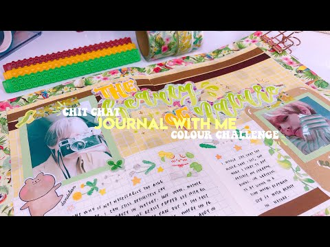 🌿 Chit Chat Journal With Me: Colour Challenge (pt.3)