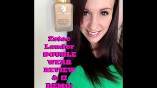 Etsee Lauder Double Wear Foundation Review & II Demo Thumbnail