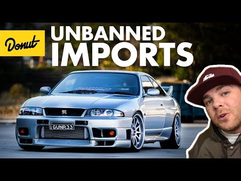 Import Cars You Can Finally Buy In The USA 2018 | The Bestest