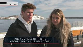 Are you more optimistic about Canada / U.S. relations? | Outburst