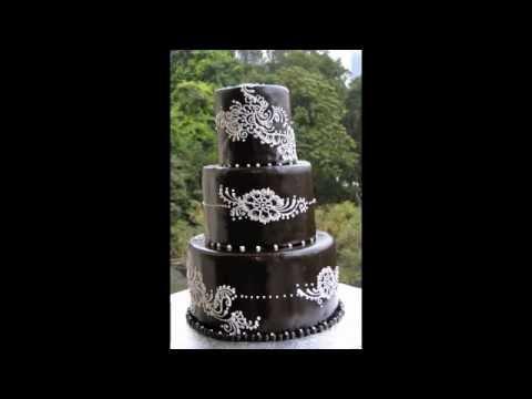 Mehndi Inspired Cake : Awesome henna cake m v youtube