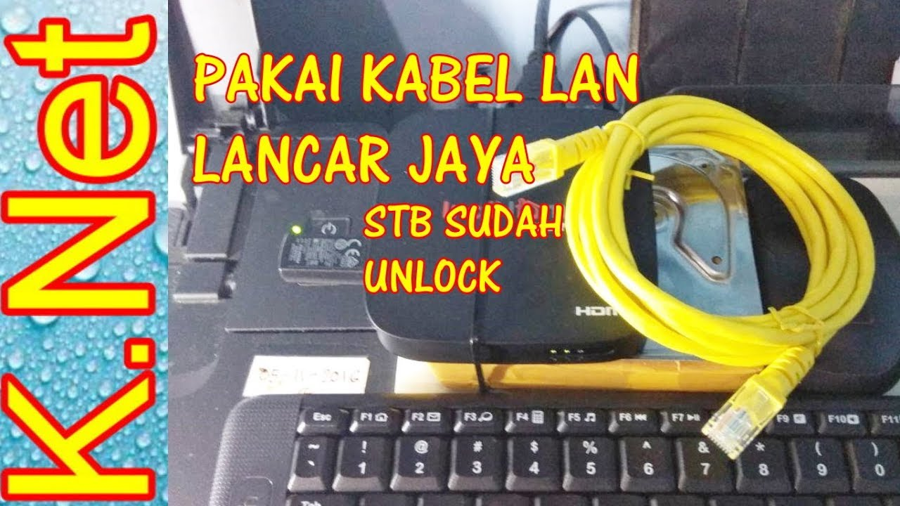 STB Huawei ec6108v9 PAKAI KABEL LAN_ { Android -Unlock )  K  Net