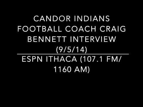 Candor Football Coach Craig Bennett Interview