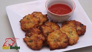 চিকেন ভেজিটেবল বড়া বা পাকোড়া   Chicken Vegetable Bora / Pakora Recipe   Chicken Pakora
