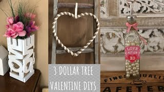 Dollar Tree Farmhouse Valentine DIYs 💕