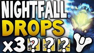 Destiny - NIGHTFALL DROPS x3 (Week 8)