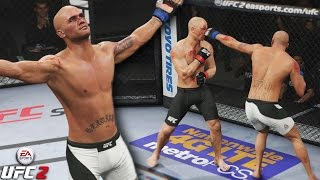Robbie Lawler Has A Bloody Battle With GSP