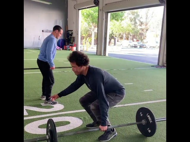 The Barbell Suitcase Deadlift