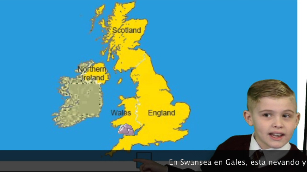 6w Uk Weather Forcecast In Spanish Youtube