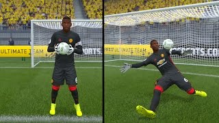 FIFA 17 - POGBA PLAYING GOALKEEPER !