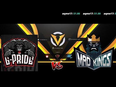 Gorillas Pride vs Mad Kings BO3 ESL One Birmingham 2018 South America Qualifier