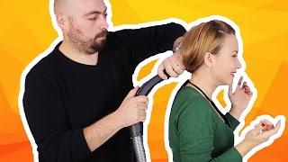 Elektrik Süpürgesi ile At Kuyruğu Saç Yapılabilir Mi? - Test Ettik